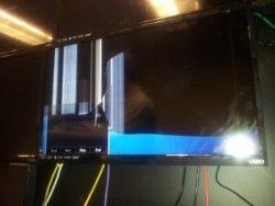 Broken Vizio TV