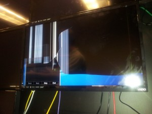 Broken Vizio TV