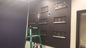 Wall mounts up!