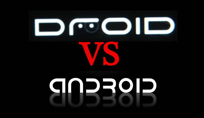 Droid Vs Android